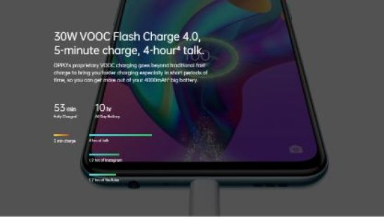 Oppo-F17-Pro-30W-VOOC-Flash-Charge-4.0