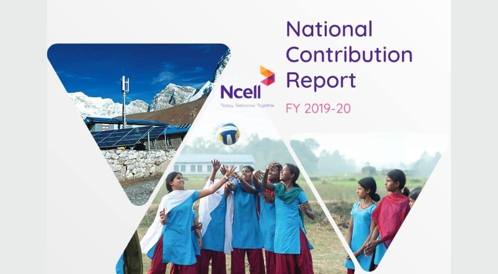 Ncell contribution report 2019 20