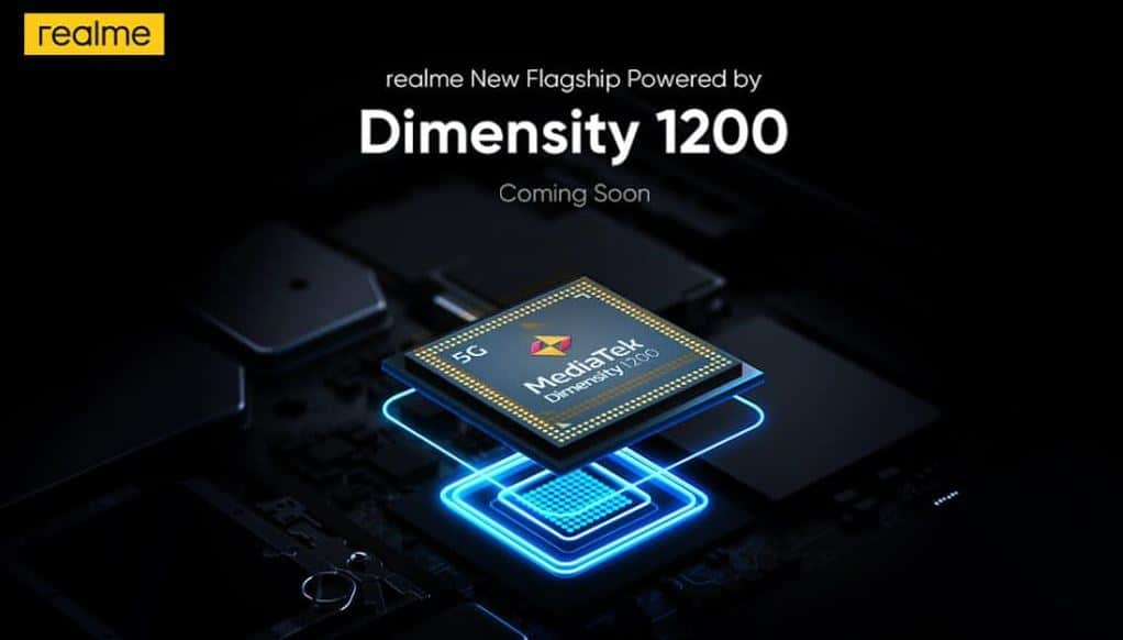 Realme Smartphone with Dimensity1200 Chipset