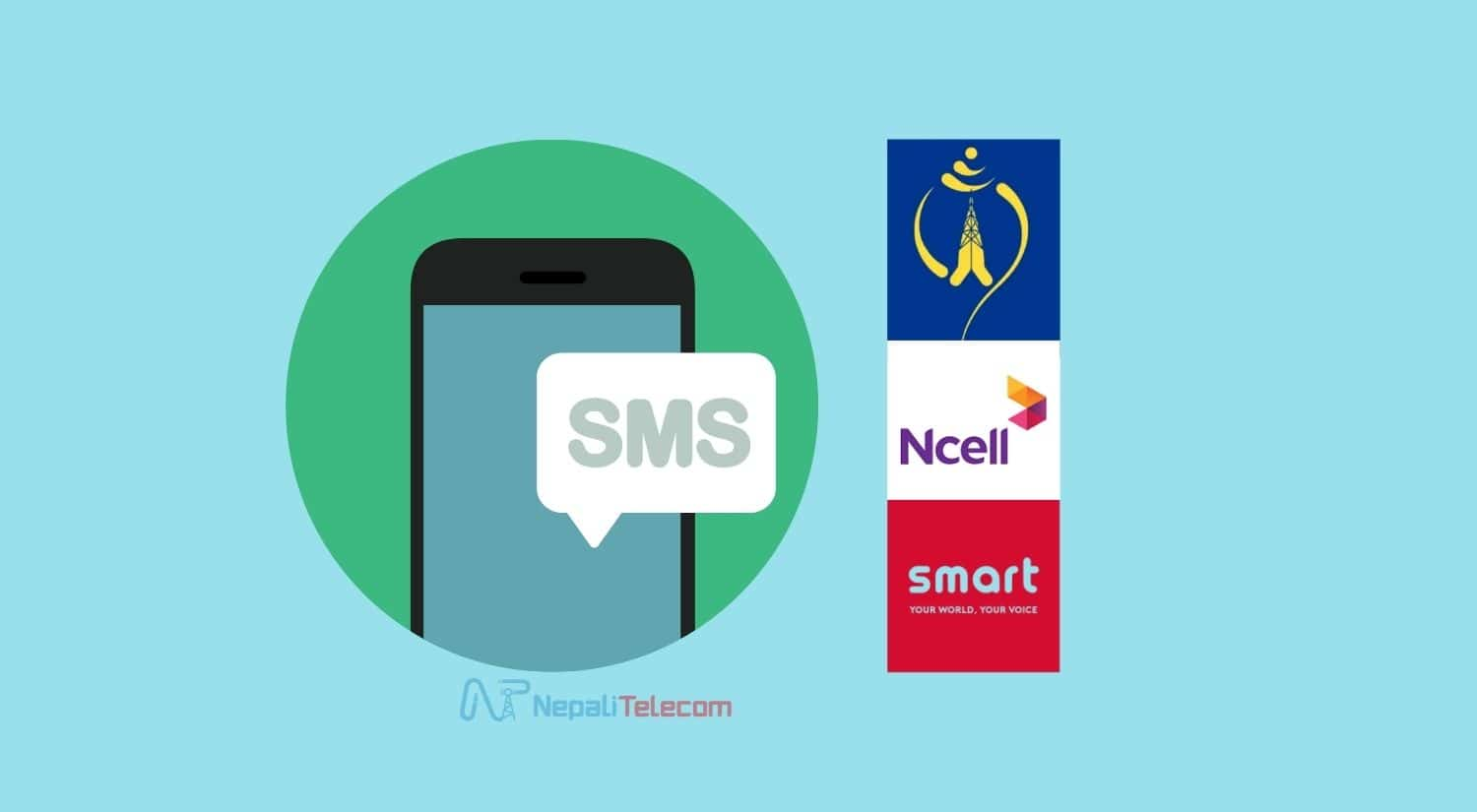 SMS Ntc Ncell Smart Cell
