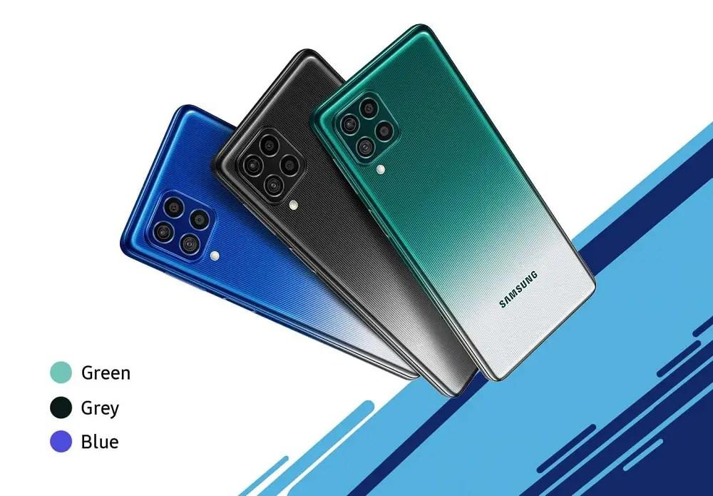 Samsung F62 Colors