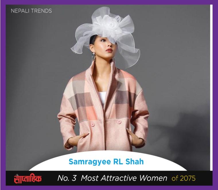 Samragyee R L Shah most beautiful nepali women