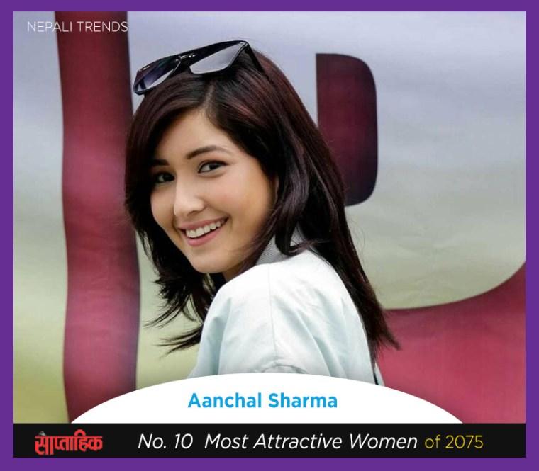 aanchal sharma most beautiful nepali women