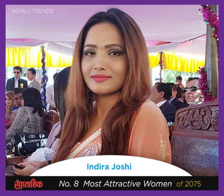 indira joshi most beautiful nepali women