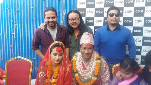 Nischal basnet and swastima khadka marries