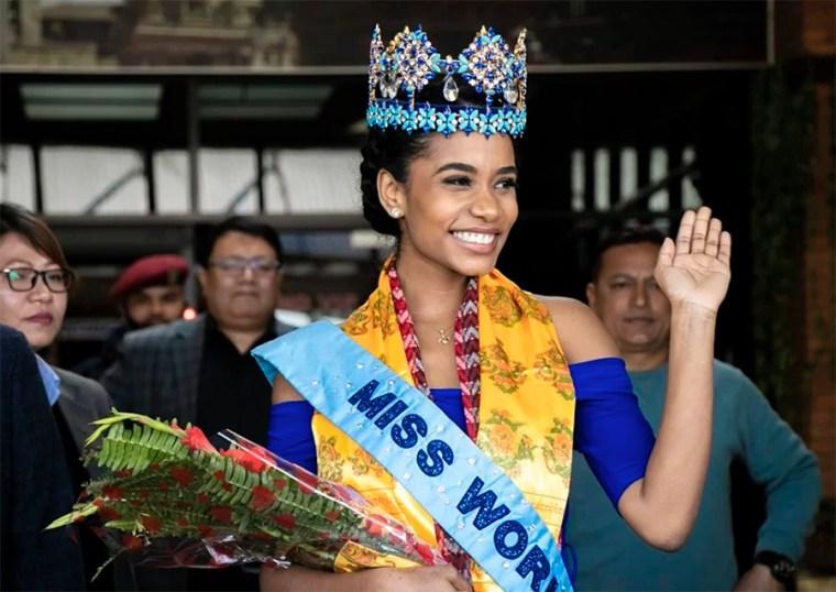 Tony-ann singh in Nepal