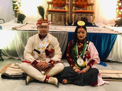 Sherdhan Rai and Jangmu Sherpa Rai Marriage