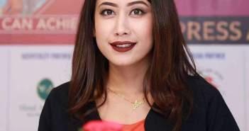 मिस नेपाल अस्मिसँग स्विटजरल्याण्डमा अन्तरक्रिया हुँदै