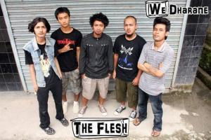 The Flesh band Dharan Nepal