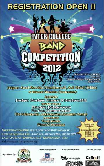 Inter College Band Competition 2012