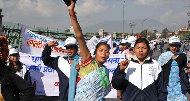 Freed Kamlari protest