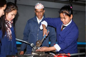 Institution Providing Technical Education in Nepal Thanks to NYF