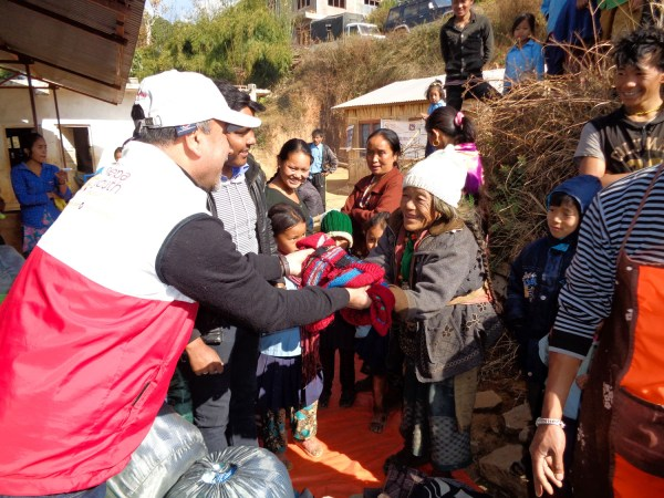 Warmer in Nepal, Earthquake Support Brings Joy to People in Nepal