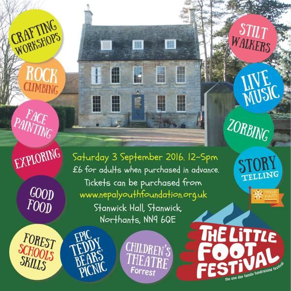 Stanwick Hall, The Little Foot Children's Festival 2017