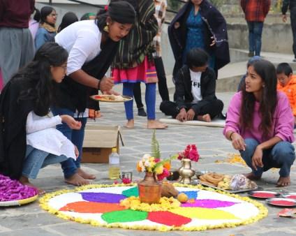 Tihar Celebration with Olgapuri, A Children's Shelter in Nepal