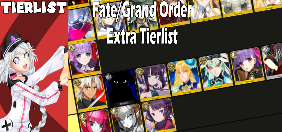 Fate/Grand Order Tierlist: Ranking all Extra servants!