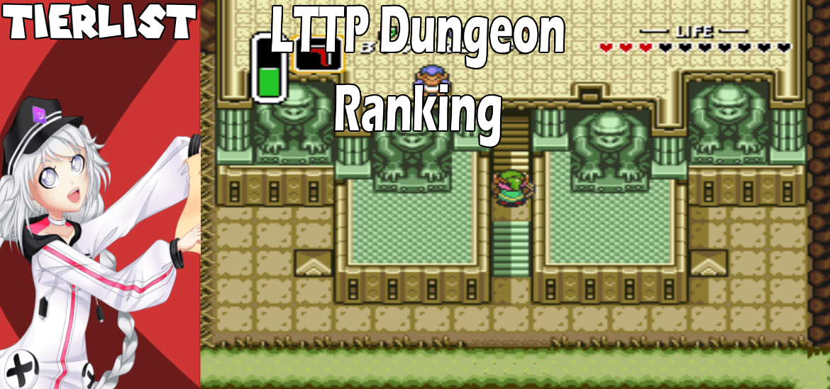 Ranking all The Legend of Zelda: A Link to the Past Dungeons