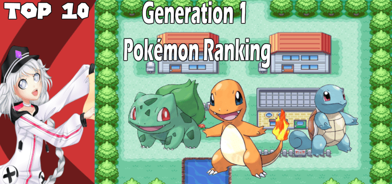Top 10 Generation 1 Pokémon