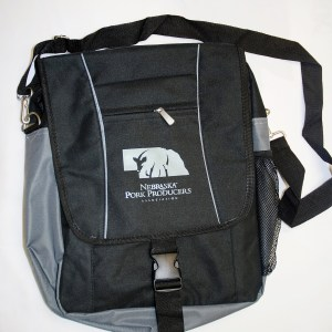 Nebraska Pork Producers Association Messenger Bag