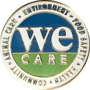 Lapel Pin - We Care