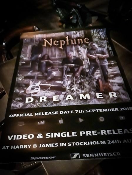 Poster from release party