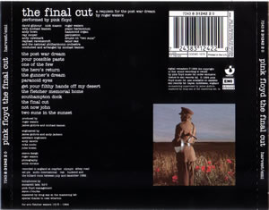 rear cover of pink floyd the final cut