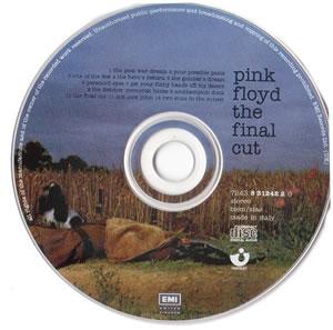 cd art scan pink floyd the final cut