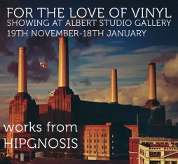 Hypgnosis: For The Love of Vinyl Albert Studio Gallery London Exhibition