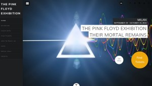 Pink Floyd Exhibition, Milan, Italy 2014 - Their Mortal Remains