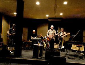 David Gilmour Ben Watt Hendra Rehearsals 2014