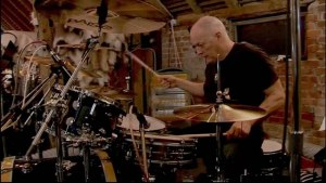 David Gilmour on Drums