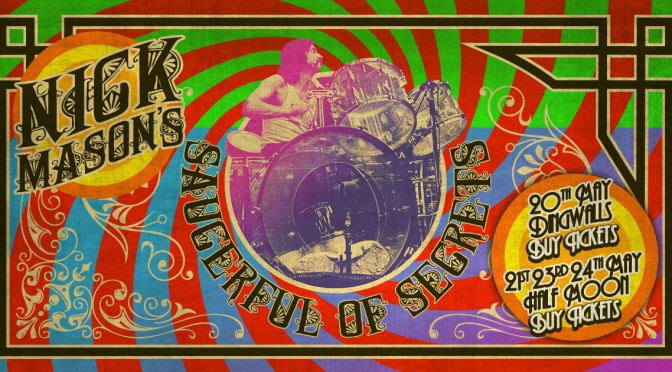 Nick Mason Saucerful Tour 2018