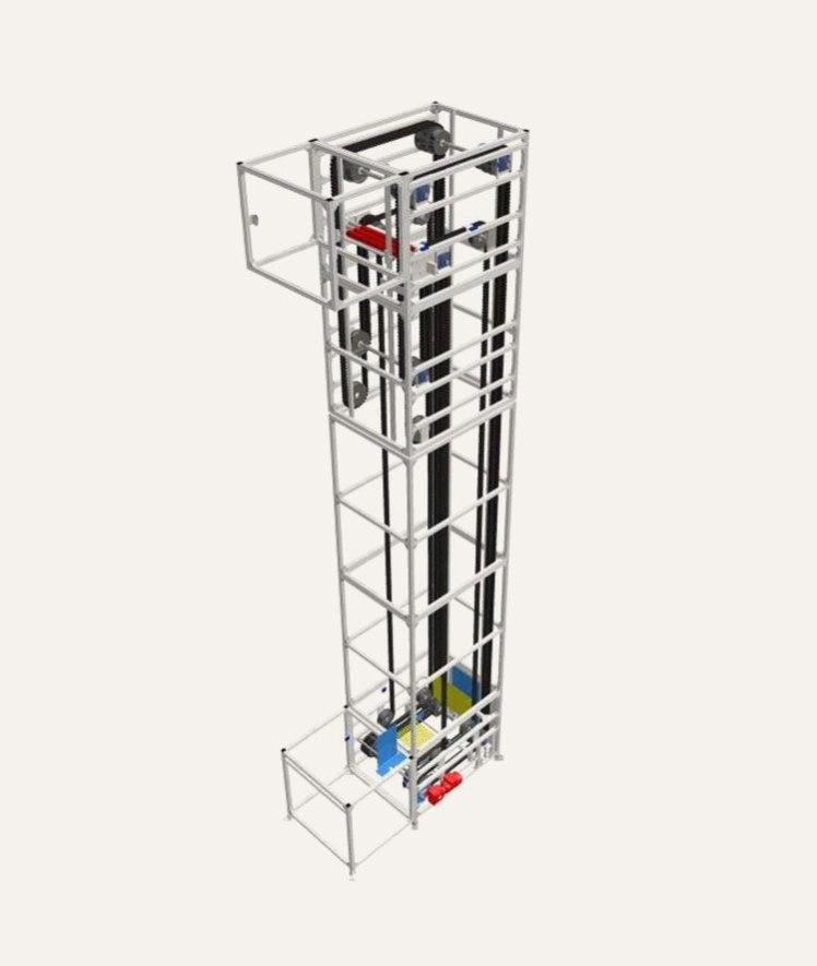 C Shape Platform Elevator