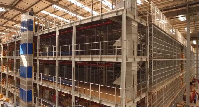 4 Floor Reciprocating Hoist Services A Mezzanine