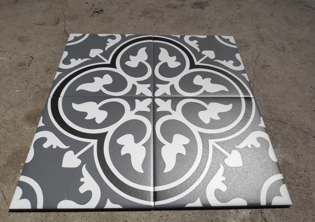 colonial heritage pattern tiles
