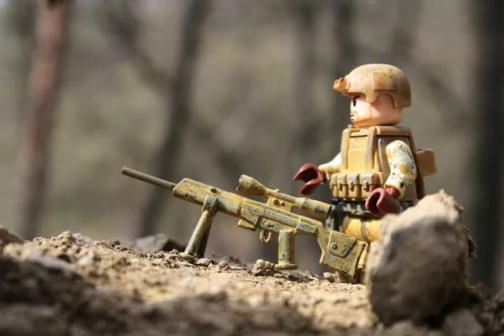 This sniper is skeptical of the Military Diet.