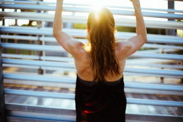 doing exercises like pull-ups are great in circuit training