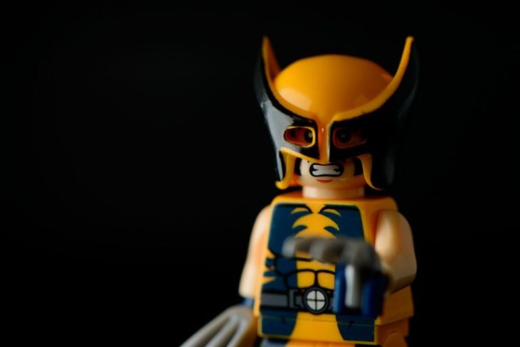 Wolverine does bodyweight training to keep his muscles strong (his bones already are).