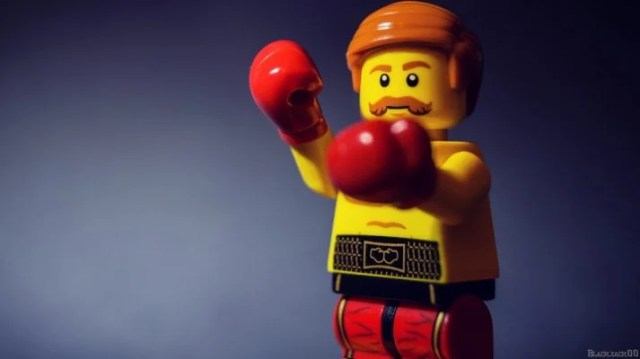 What workout does this LEGO do? Does he have a coach build him his workout routine?