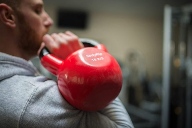 build your own circuit training workout with exercises like kettlebell presses