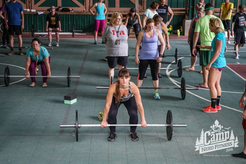Barbell training is very important, which is why we covered it at camp!