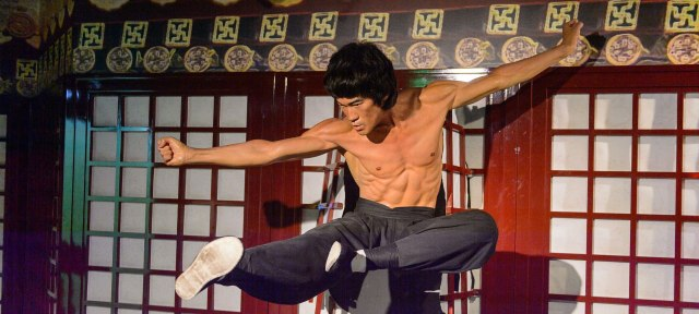 A picture of Bruce Lee