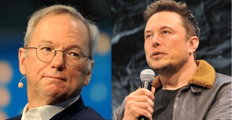Google Billionaire Eric Schmidt: Elon Musk is 'exactly wrong' about A.I. because he 'doesn't understand'