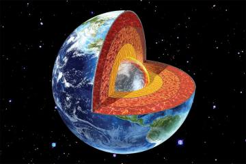 J waves confirm that the inner core of the Earth is solid