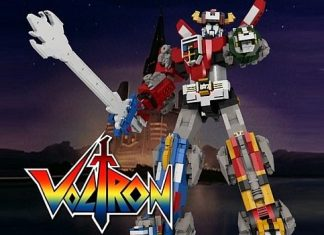 Voltron in versione Lego