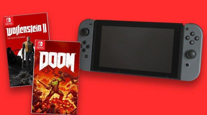 Doom e Wolfestein 2 arriveranno su Nintendo Switch