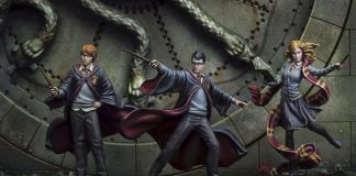 gioco di miniature di Harry Potter