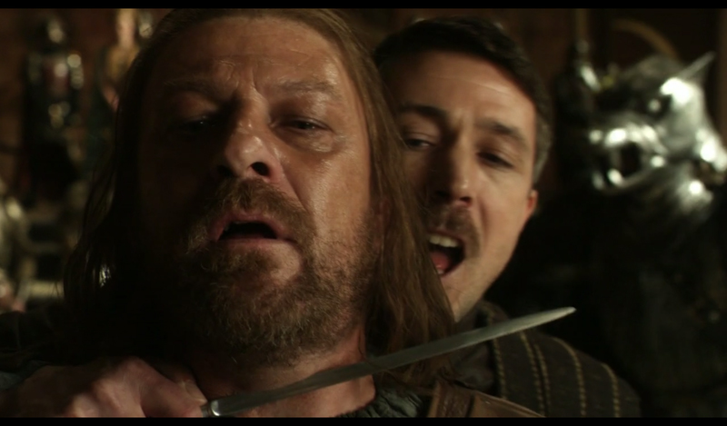 Image result for betraying ned stark petyr baelish