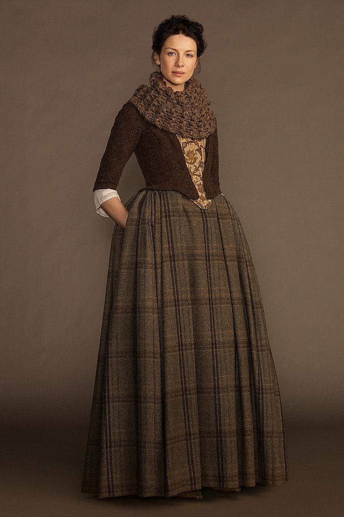 Image result for claire outlander green dress