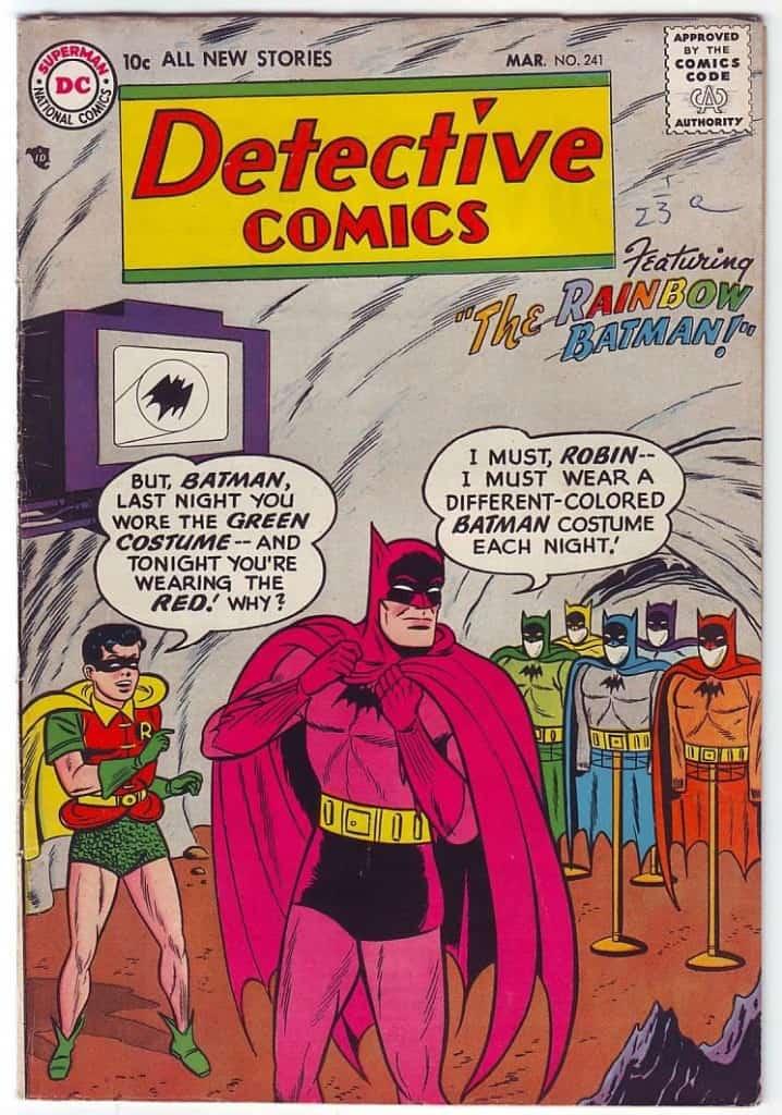 Rainbow Batman Figures Coming In August